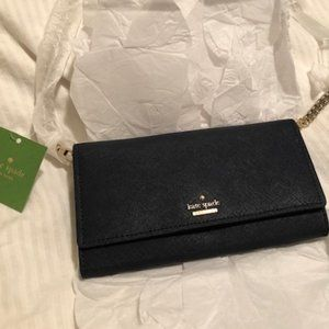 Navy blue Kate Spade convertible crossbody purse - *NEW WITH TAGS*